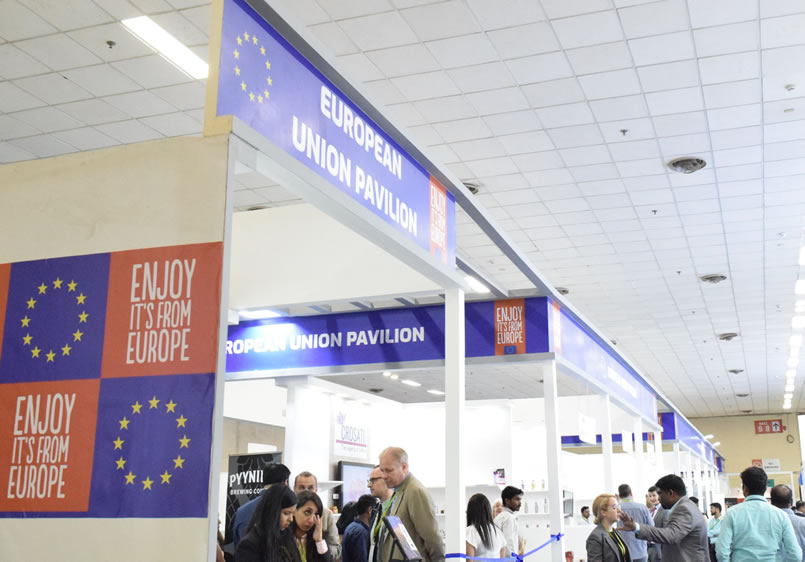 Taste of Europe at the Indian Food innovation Exhibition, New Delhi