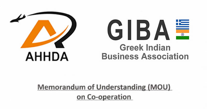 MOU signed between Greek Indian Business Association (GIBA) and All Handicrafts & Home Furnishing Development Association (AHHDA)